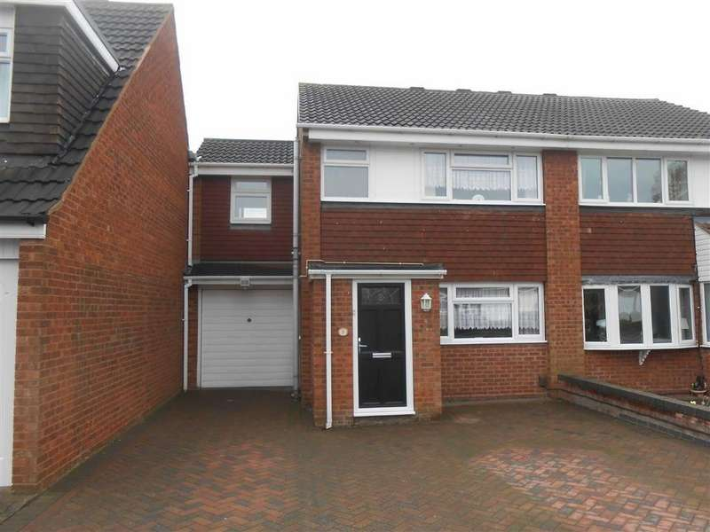 3 Bedrooms Semi Detached House for sale in Cranleigh Close, Willenhall, West Midlands