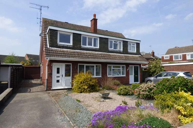 3 Bedrooms Semi Detached House for sale in Dovefields, Rocester