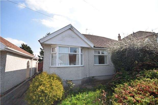 2 Bedrooms Semi Detached Bungalow for sale in Salisbury Gardens, Downend, BRISTOL, BS16 5RF