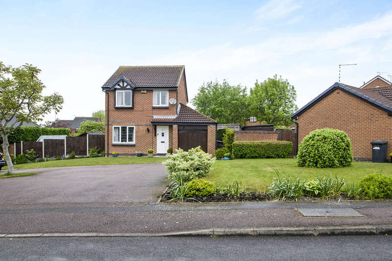 3 Bedrooms Detached House for sale in Wainfleet Close, Ilkeston, DE7