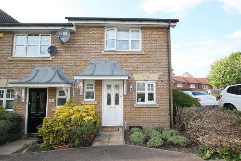 2 Bedrooms End Of Terrace House for sale in ELCERBERRY CLOSE, HAINAULT