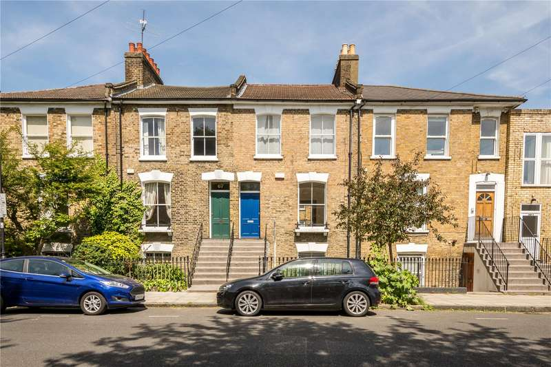 3 Bedrooms Terraced House for sale in Queen Margarets Grove, London, N1