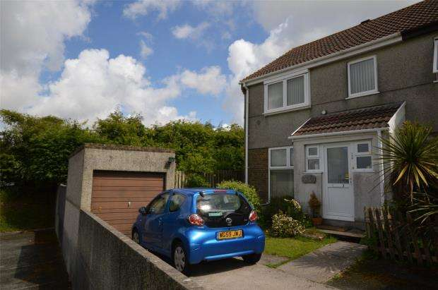 3 Bedrooms End Of Terrace House for sale in Bellingham Crescent, Plymouth, Devon
