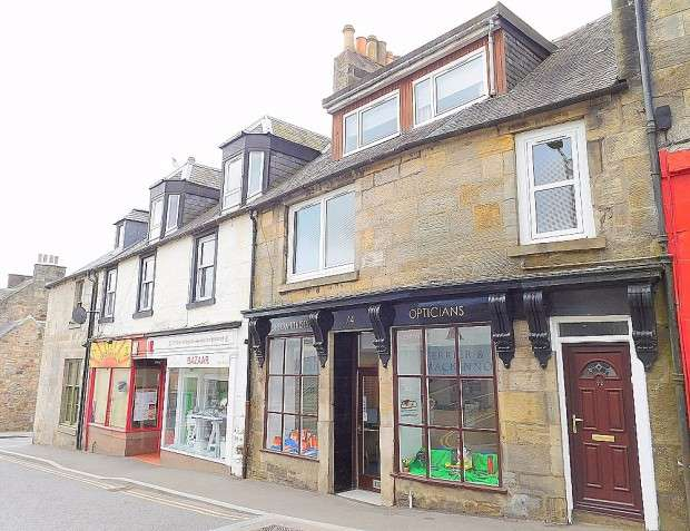 3 Bedrooms Terraced House for sale in High Street, Kinross, KY13