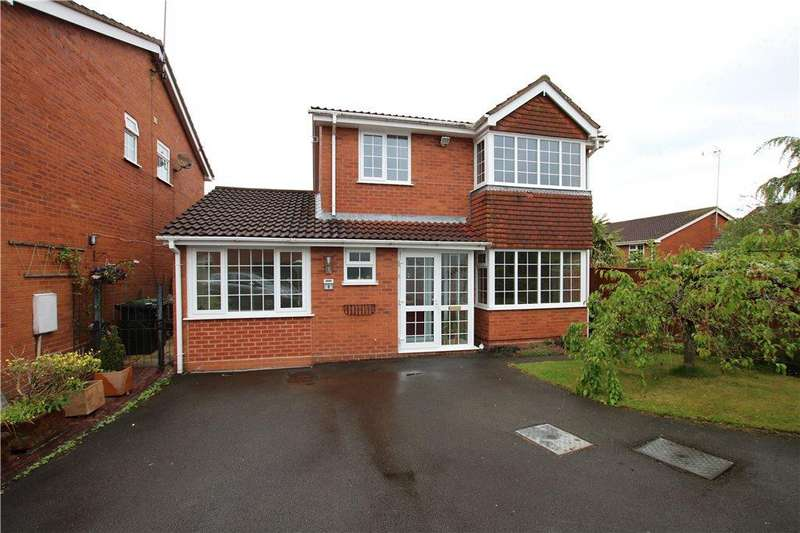 4 Bedrooms Detached House for sale in Oswestry Close, Walkwood, Redditch, Worcestershire, B97