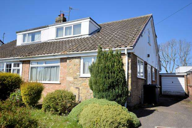 3 Bedrooms Semi Detached Bungalow for sale in Station Road, Cayton, Scarborough, YO11 3TG