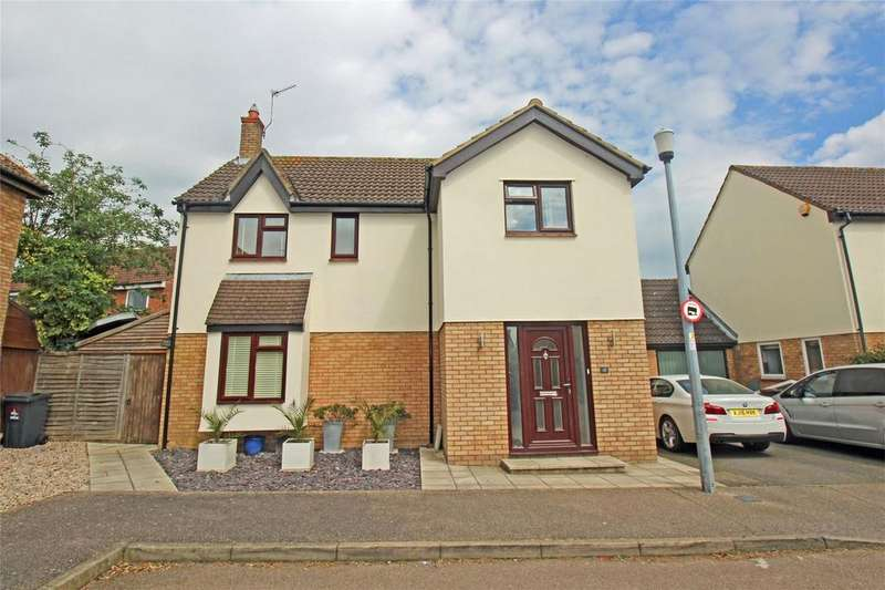 4 Bedrooms Detached House for sale in The Hedgerows, Stevenage, Hertfordshire