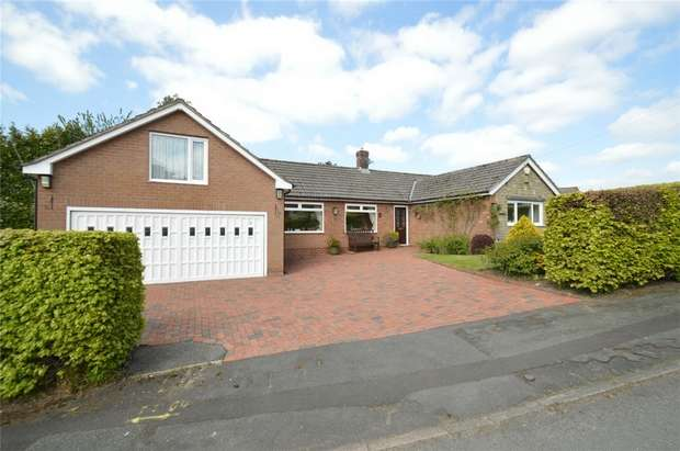 3 Bedrooms Detached Bungalow for sale in Gleave Avenue, Bollington, Macclesfield, Cheshire