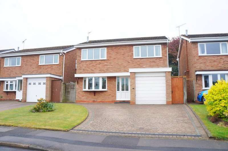 4 Bedrooms Detached House for sale in Chantry Heath Crescent, Knowle