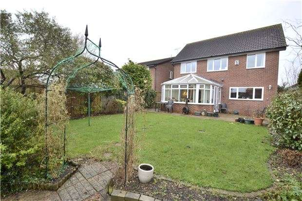 4 Bedrooms Detached House for sale in Gorse Close, Abbeymead, GLOUCESTER, GL4 5UW