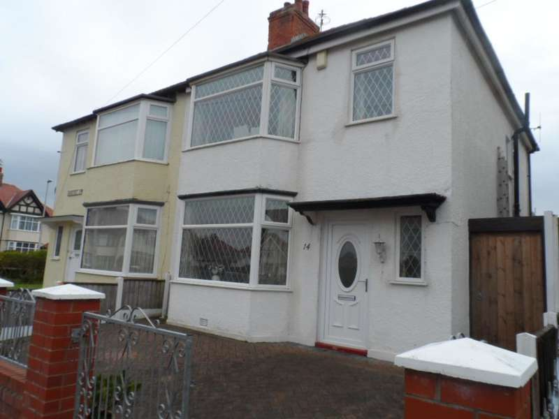 3 Bedrooms Semi Detached House for sale in Sandicroft Road, Blackpool, FY1 2RY