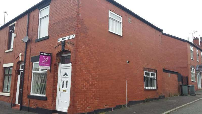 3 Bedrooms End Of Terrace House for sale in Leamington Street, Rochdale, Lancashire, OL12 0PT