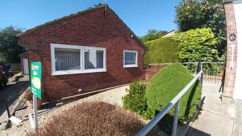 2 Bedrooms Detached Bungalow for sale in Clos Cyncoed, Caledfryn, Caerphilly