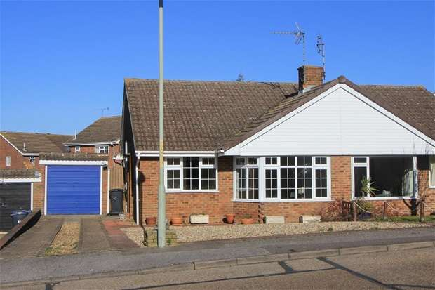 2 Bedrooms Semi Detached Bungalow for sale in Sandpiper Road, Whitstable