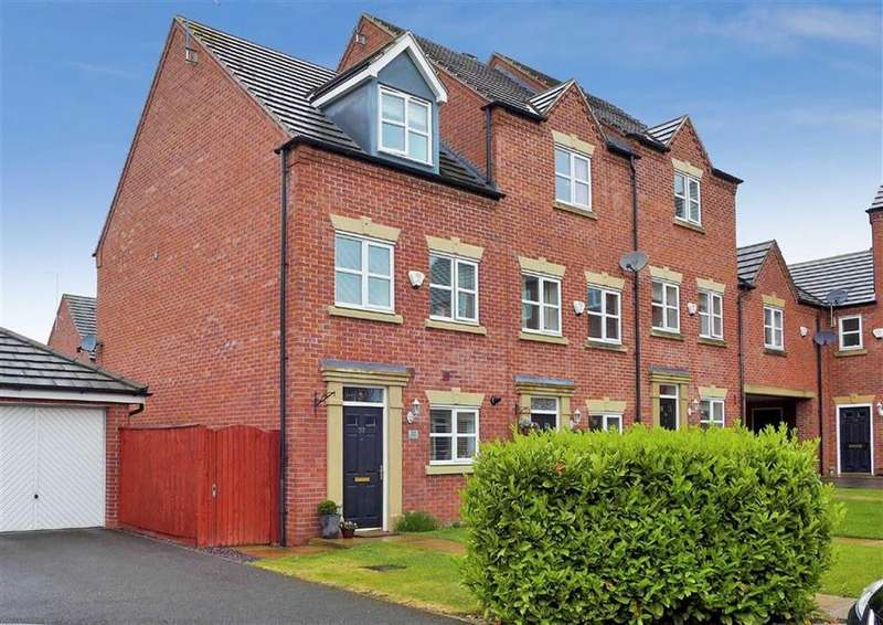 3 Bedrooms Semi Detached House for sale in Salisbury Close, Crewe