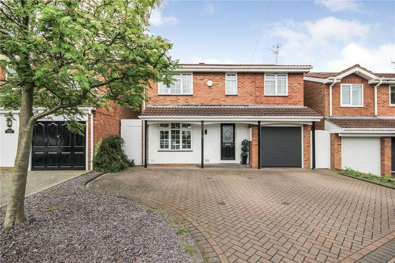 4 Bedrooms Detached House for sale in Finsbury Drive, Brierley Hill, West Midlands, DY5
