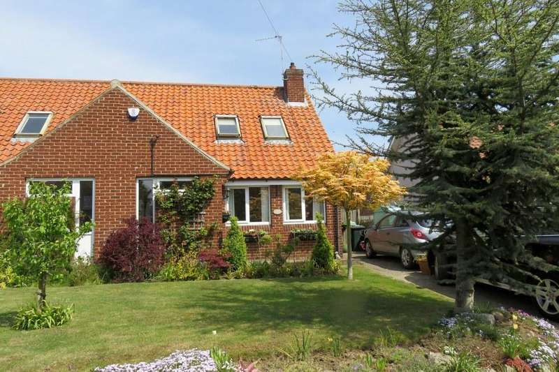 2 Bedrooms Semi Detached Bungalow for sale in Holly Cottage, Great Habton YO17 6TU