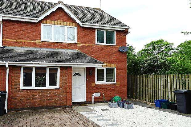 3 Bedrooms Terraced House for sale in Denston Close, East Hunsbury, Northampton, NN4