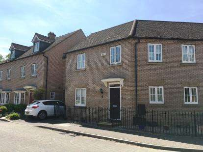 3 Bedrooms End Of Terrace House for sale in Ibbett Lane, Potton, Sandy, Bedfordshire