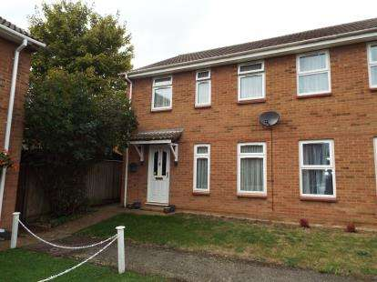 3 Bedrooms End Of Terrace House for sale in Edwards Walk, Earith, Huntingdon, Cambridgeshire