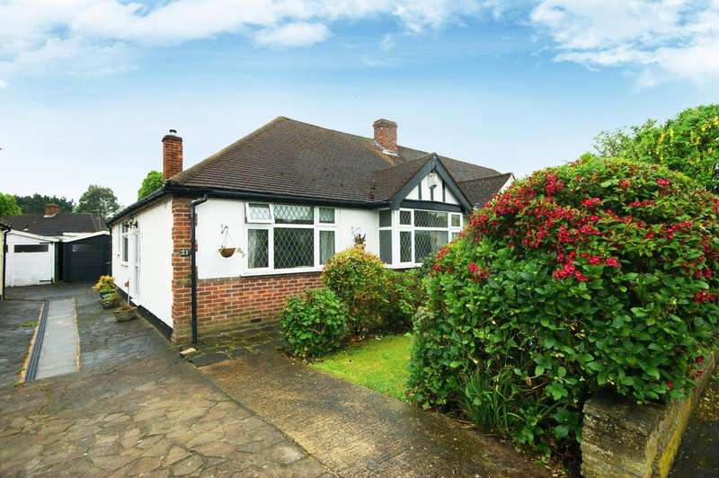 2 Bedrooms Semi Detached Bungalow for sale in Roxburn Way, Ruislip