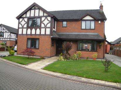 4 Bedrooms Detached House for sale in Hareswood Close, Winsford, Cheshire, England