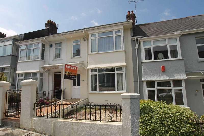 3 Bedrooms Terraced House for sale in Green Park Avenue, Mutley, PL4 6PG