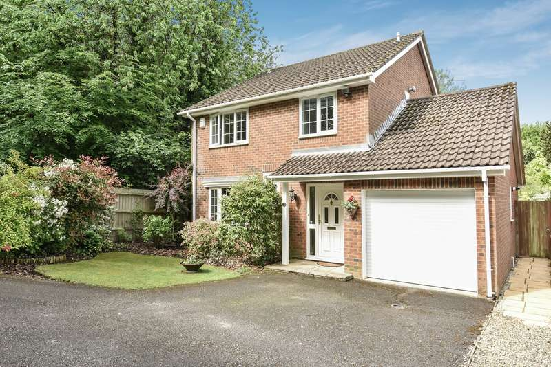 4 Bedrooms Detached House for sale in Alderney Avenue, Hatch Warren, Basingstoke, RG22
