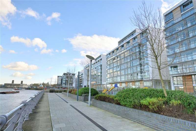 2 Bedrooms Flat for sale in Canary View, 23 Dowells Street, London, SE10