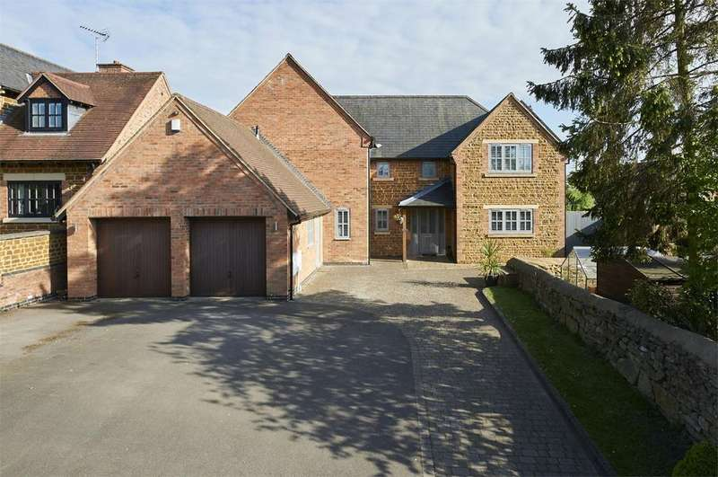 4 Bedrooms Detached House for sale in Orchard Close, Wilbarston, Market Harborough, Northamptonshire