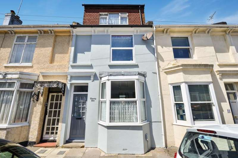 4 Bedrooms Terraced House for sale in Hampden Road Brighton East Sussex BN2