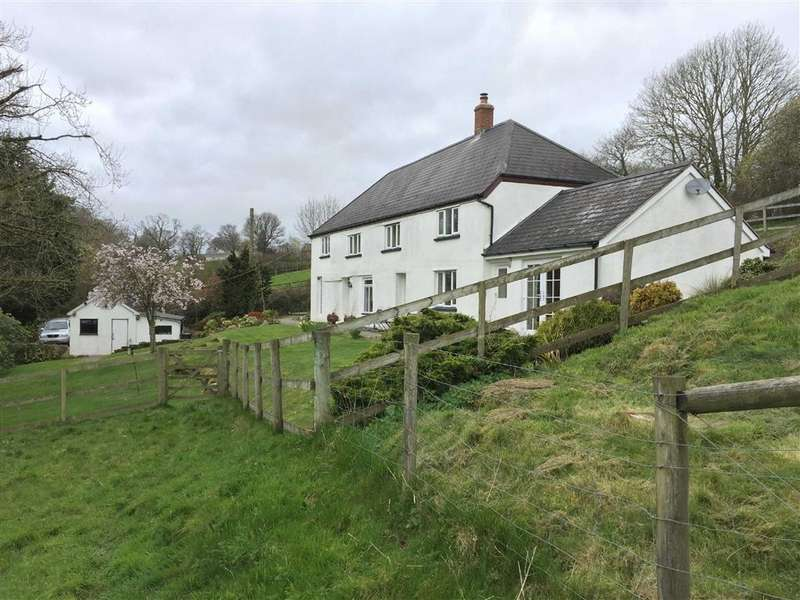 4 Bedrooms Detached House for sale in Hittisleigh, Exeter, Devon, EX6