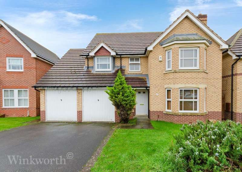 4 Bedrooms Detached House for sale in Sheldrake Road, Sleaford, Lincolnshire, NG34