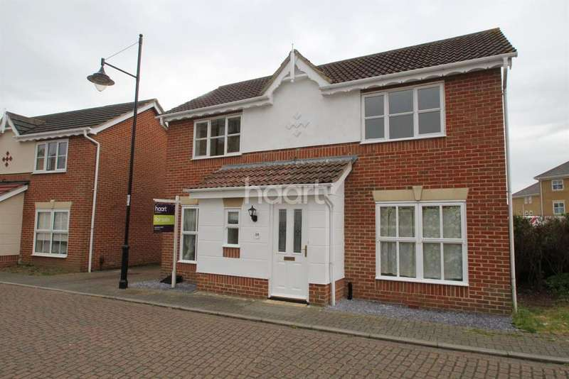 3 Bedrooms Detached House for sale in Goldcrest Drive, St Mary's Island, Chatham