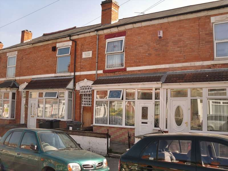 3 Bedrooms Terraced House for sale in Greswolde Road,Sparkhill, Birmingham