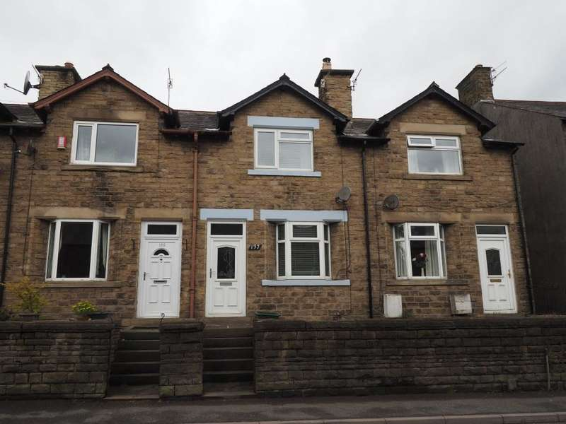2 Bedrooms Terraced House for sale in Low Leighton Road, New Mills, High Peak, Derbyshire, SK22 4LR