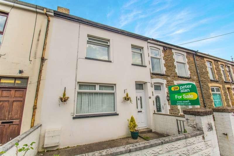 3 Bedrooms Terraced House for sale in Commercial Street, Beddau, Pontypridd