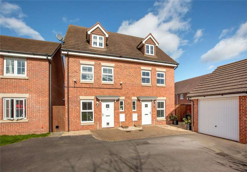 3 Bedrooms Semi Detached House for sale in Horse Guards Way, Thatcham, Berkshire, RG19