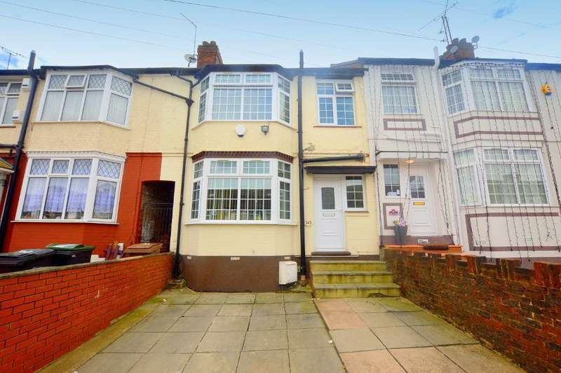 3 Bedrooms Terraced House for sale in Runley Road, Luton, Bedfordshire, LU1 1TX