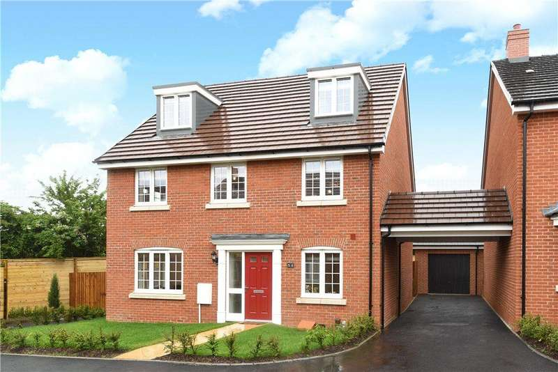 5 Bedrooms Detached House for sale in Copia Crescent, Leighton Buzzard, Bedfordshire