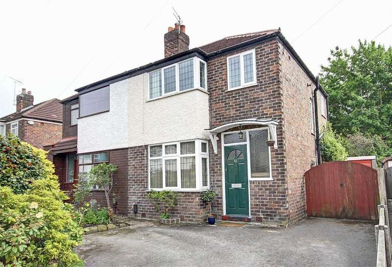3 Bedrooms Semi Detached House for sale in Dudley Road, Timperley, Cheshire