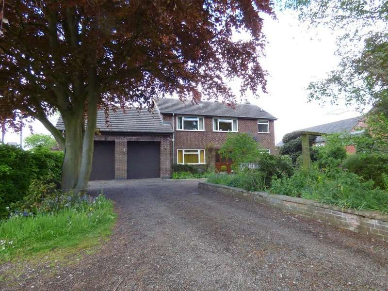 3 Bedrooms Detached House for sale in Moor End, Bradley, Ashbourne