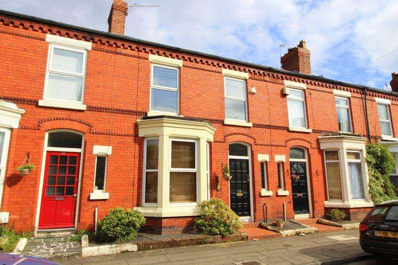 3 Bedrooms Terraced House for sale in Brentwood Avenue, Aigburth