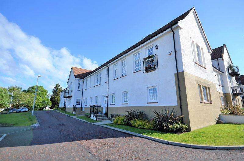 2 Bedrooms Ground Flat for sale in 5 Hannah Court, St Quivox , Ayr KA6 5JF