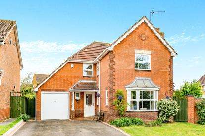 4 Bedrooms Detached House for sale in Oriel Way, Brackley, Northamptonshire