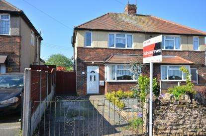 2 Bedrooms Semi Detached House for sale in Hardwick Avenue, Sutton-In-Ashfield, Nottingham, Nottinghamshire