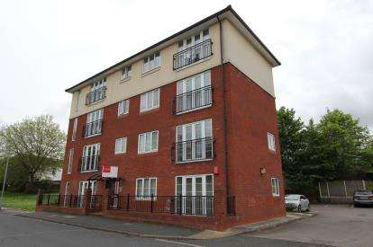 2 Bedrooms Flat for sale in Hollows Court, 60 Ridling Lane, Hyde, Greater Manchester