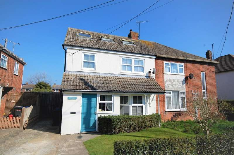 4 Bedrooms Semi Detached House for sale in Friars Close, Whitstable