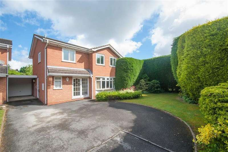 4 Bedrooms Detached House for sale in Salisbury Close, Lichfield, Staffordshire