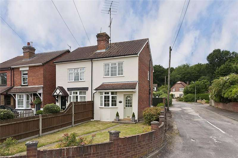 2 Bedrooms Semi Detached House for sale in Brox Road, Ottershaw, Chertsey, Surrey, KT16